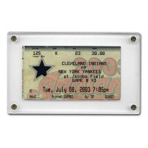 Non-Recessed Four Screw for trading cards or ticket stubs up to 2.75 by 4 inches