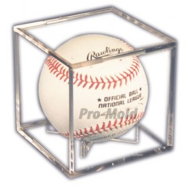Baseball Cube with Stand - Pro-Mold