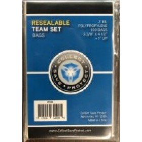 CSP Team Set Bag or Magnetic Card Holder Sleeve - 100 Pack