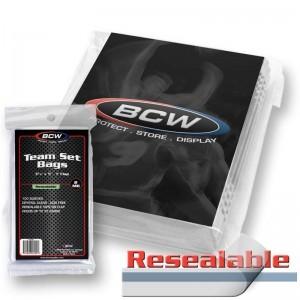 Team Set Bag or Magnetic Card Holder Sleeve - 100 Pack