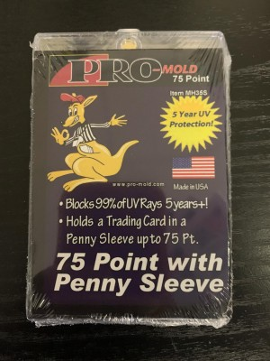NEW! 75 Point Magnetic with Penny Sleeve - NOW AVAILABLE!