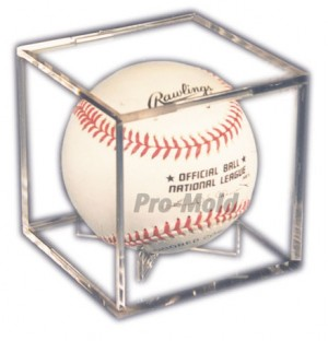 Baseball Cube with Stand