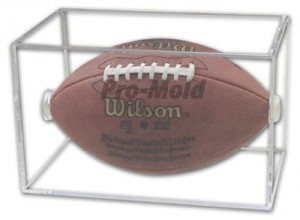Football Case, 5 Year UV - Pro-Mold