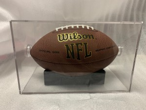 Football Case, Non-UV - EconoSafe with Stand