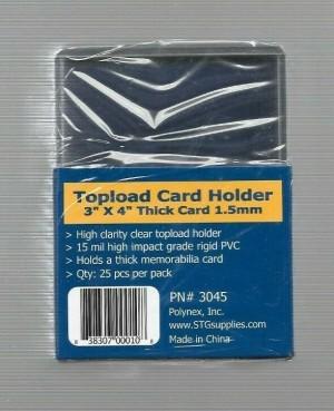 SAFTGard 59 Point Top Loader - Pack of 25