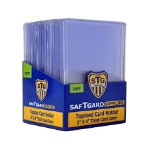 SAFTGard 79 Point Top Loader - Pack of 25