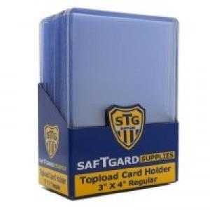 SaftGard Regular Card Top Loader - Pack of 25