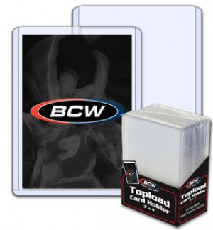 BCW Regular Card Top Loader - Pack of 25