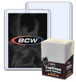 BCW 59 Point Top Loader - Pack of 25