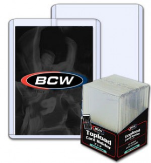 BCW 108 Point Top Loader - Pack of 10
